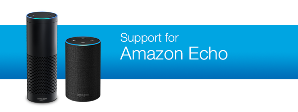 Support for Amazon Echo