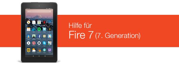 Amazonde Hilfe Hilfe Zu Fire 7 7 Generation