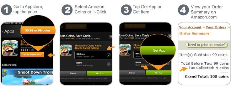 Amazon.com Help: Spend Amazon Coins
