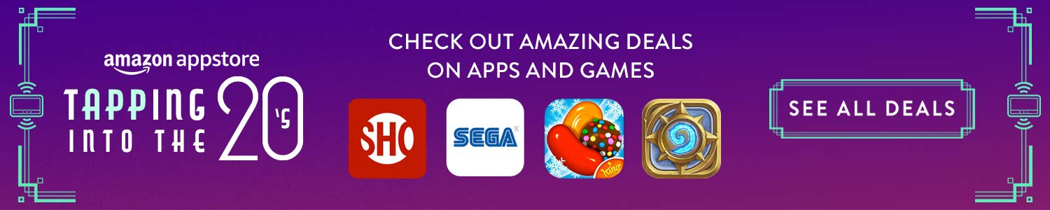 Check out amazing deals on apps and games