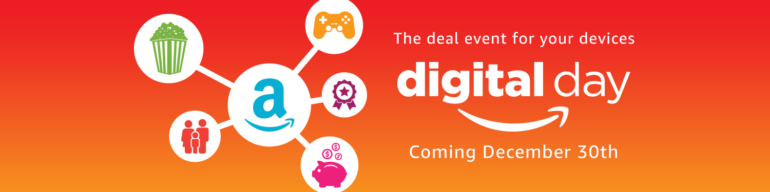 Amazon Digital Day promo