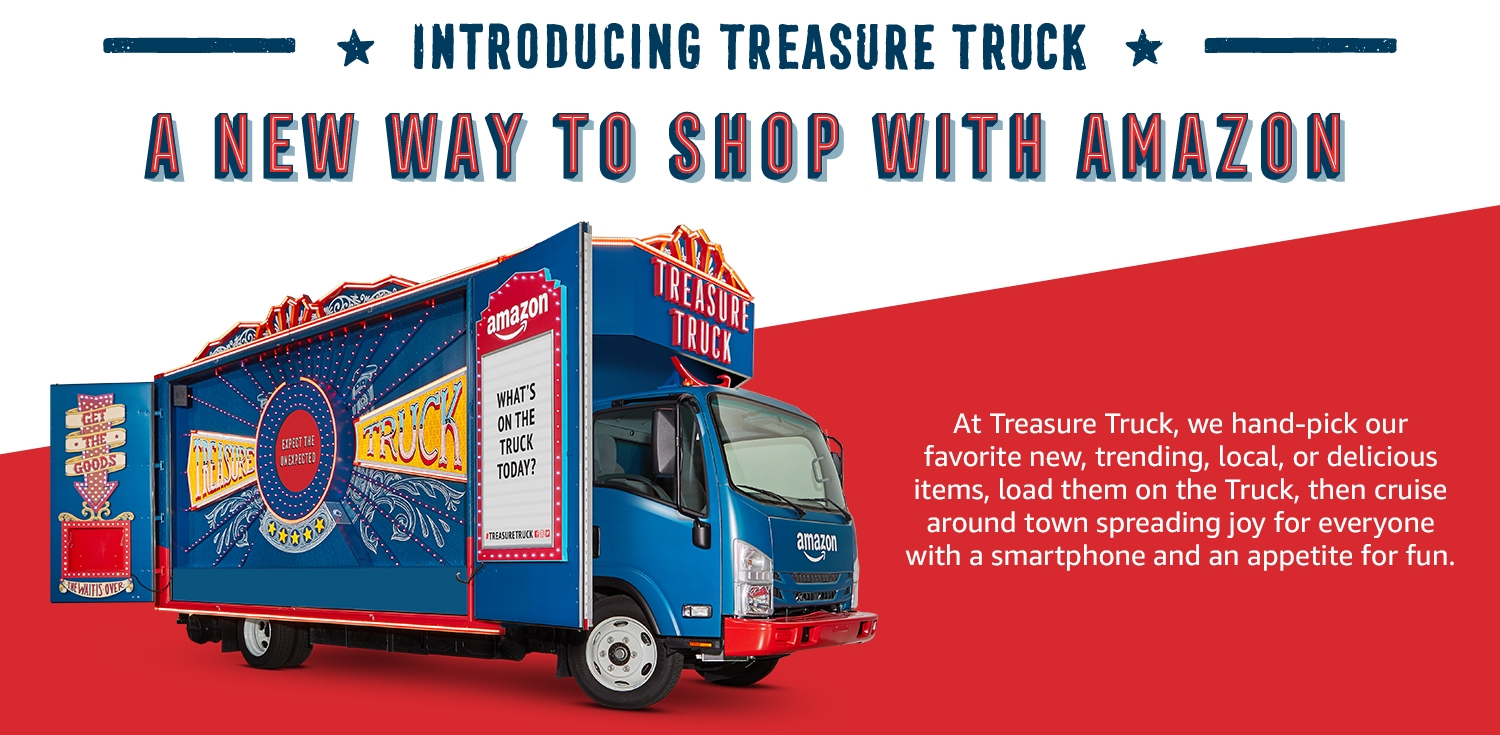 Amazon.com: : Treasure Truck