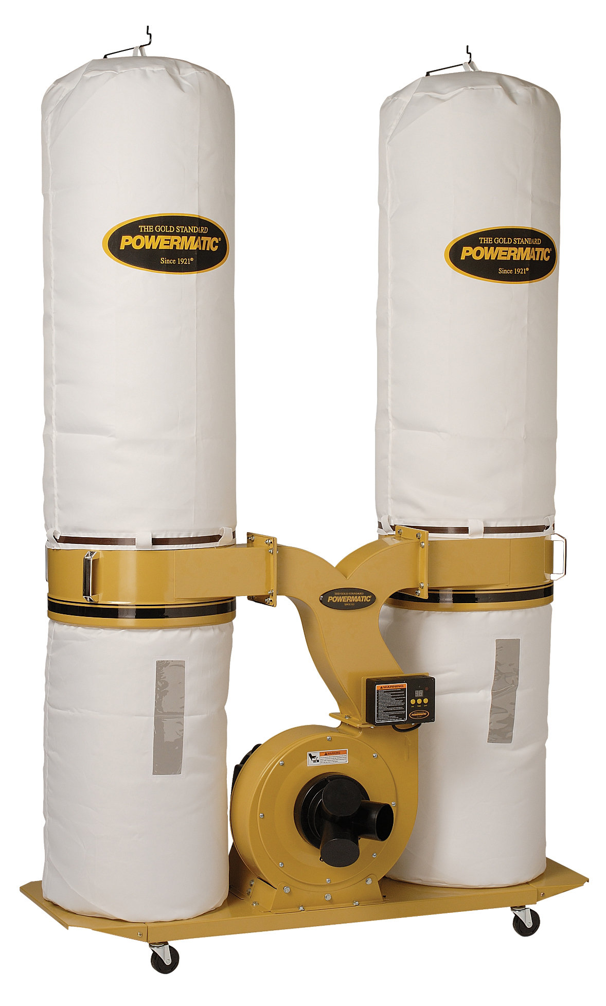 Powermatic PM1900TX-BK3 Dust Collector 3HP 3PH 230/460-Volt 30