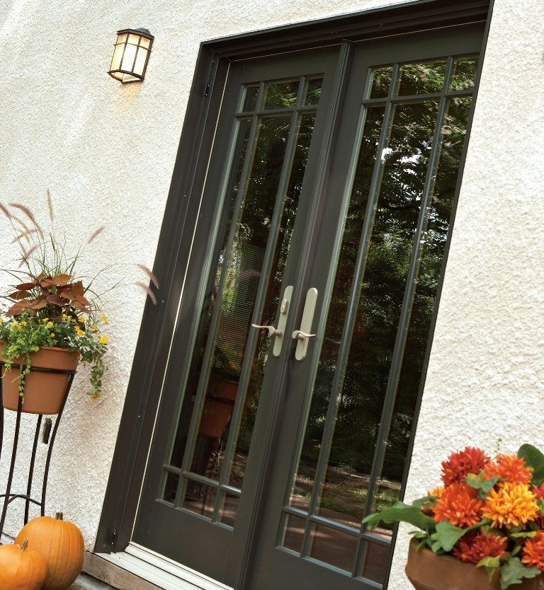 As Shown In These Before And After Shots, The Insulation Film Attaches  Neatly To Your Patio Door To Keep The Heat In And The Cold Out (click Each  To ...