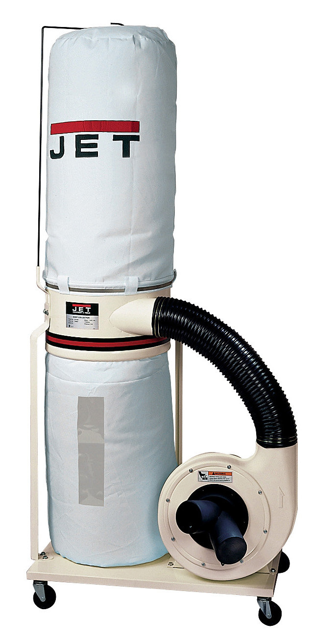 Jet Dc 1200vx Bk1 Dust Collector 2hp 1ph 230 Volt 30