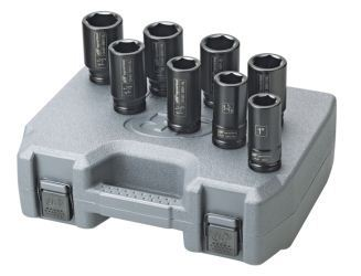 Ingersoll Rand SK4H13 deep impact sockets with case