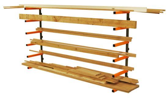 Simple Shelves And Triton Lumber Rack Projetos Claudio Fino