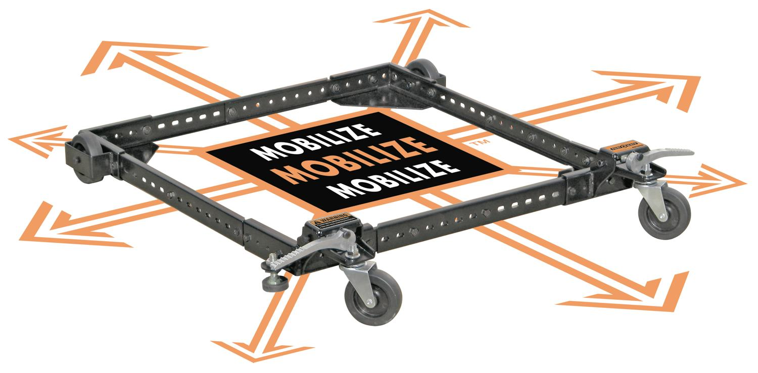 Adjustable Universal Mobile Base Portamate Pm 1000 Move Your Heavy Tools And Equipment Around