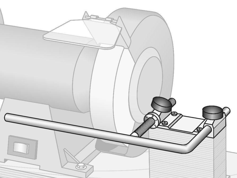 Tormek Bgm100 Bench Grinder Tool Rest Mount Kit For Tormek