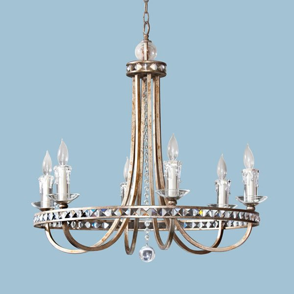 Candice Olson Aristocrat 6 X 60 Watt Light Chandelier