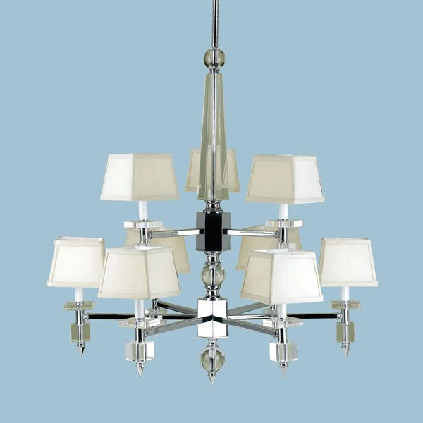 Candice olson cluny 9 x 40 watt light chandelier chrome with strong see larger image aloadofball Choice Image