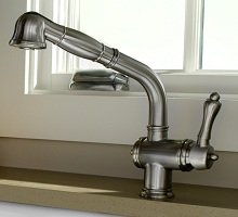 Charmant Beautiful Victorian Era Style In A Modern Kitchen Faucet
