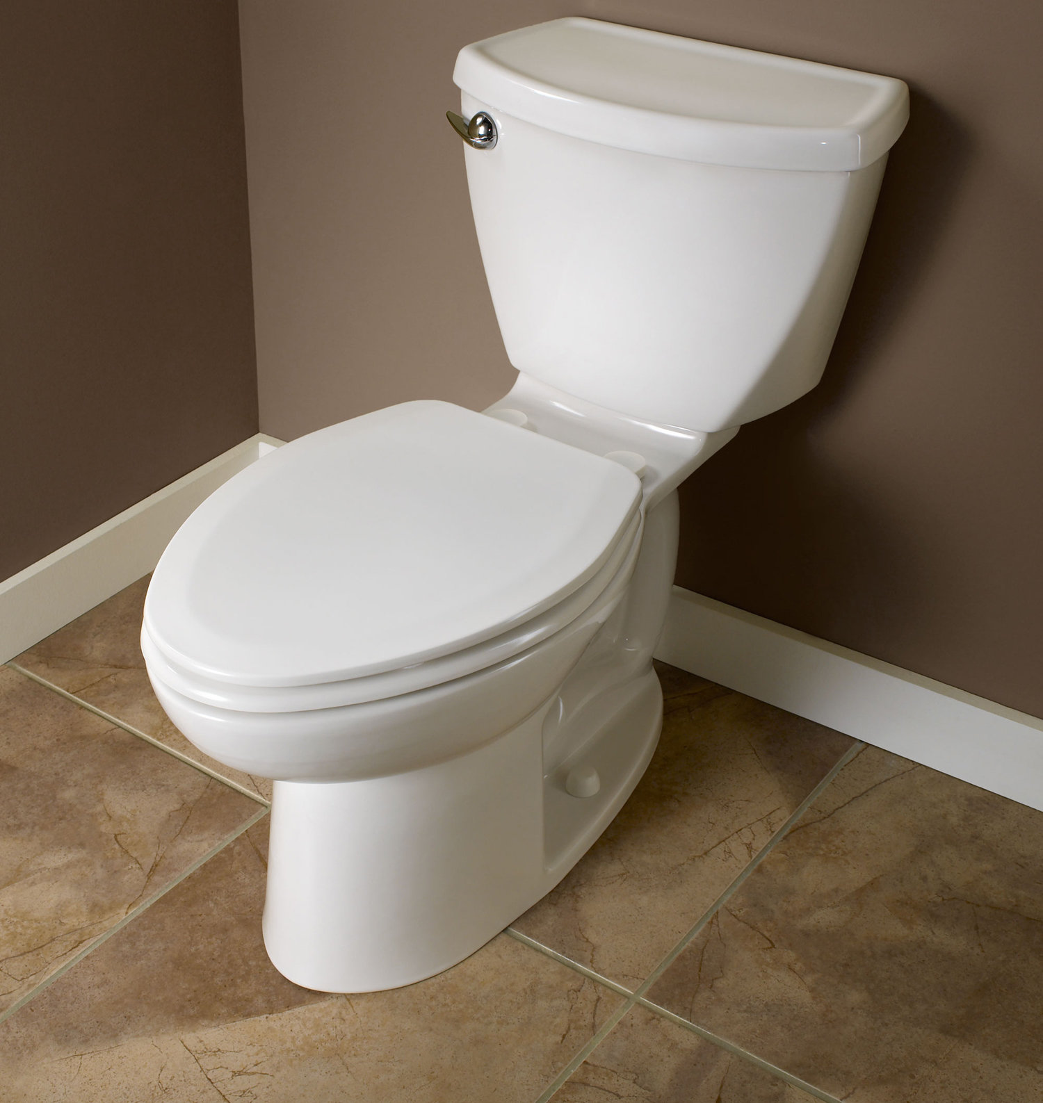 American Standard 5321 110 020 Everclean Elongated Toilet