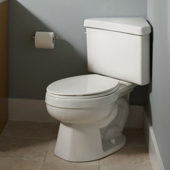 Designed To Fit In The Corners Of Your Bathroom