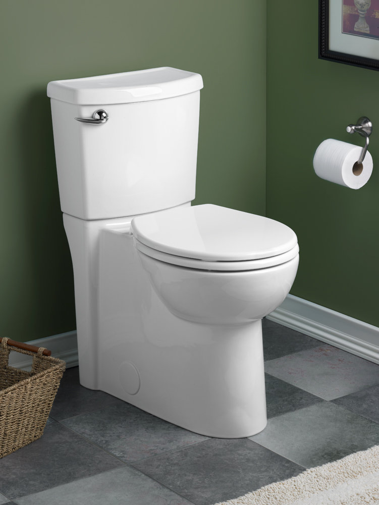 The Cadet 3 toilet offers a smart, water-efficient design and powerful