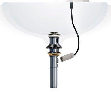 Jado 848001 100 Pyke Monoblock Lavatory Faucet Polished