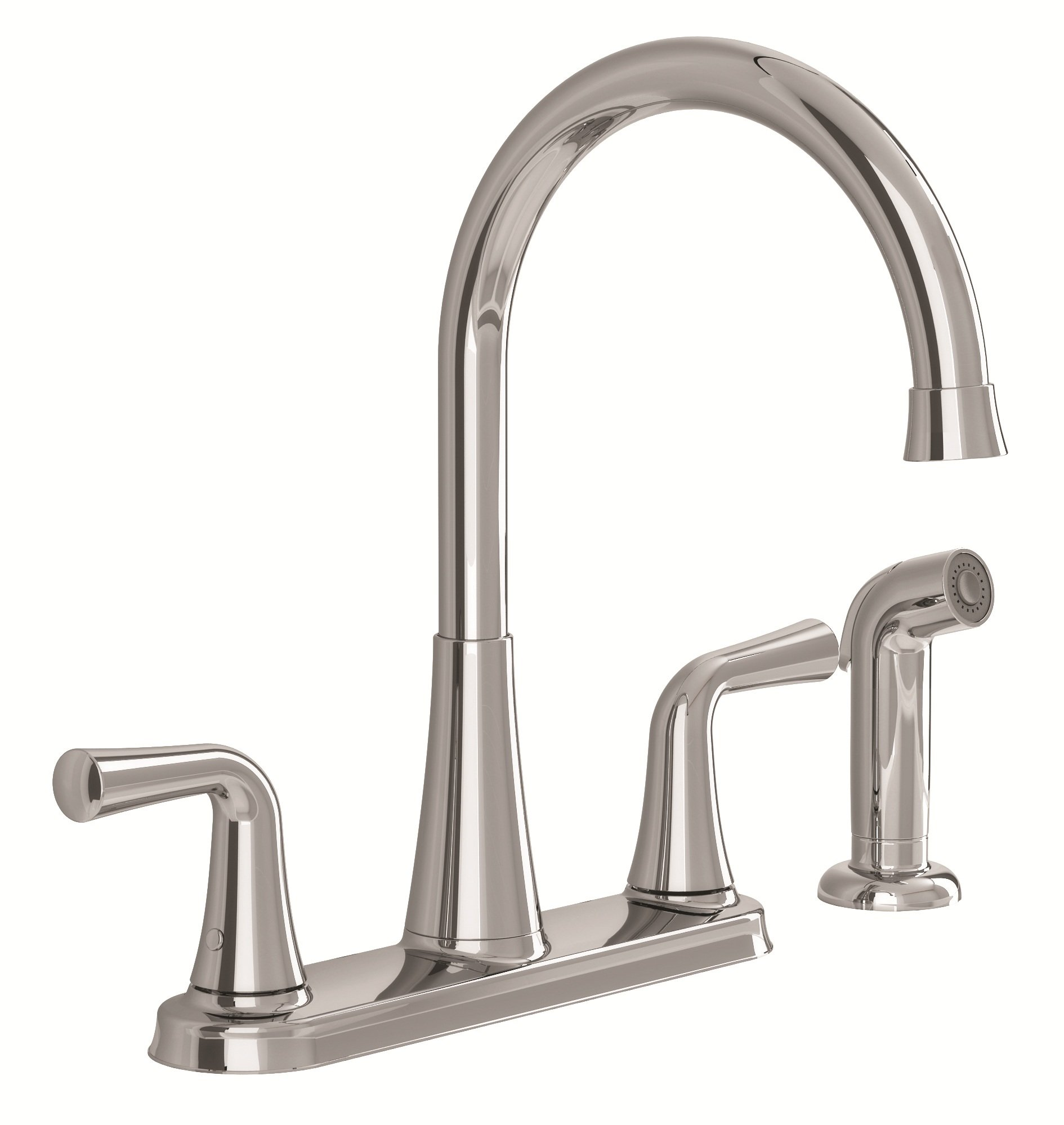wonderful American Standard Kitchen Faucet Leaking #8: Stock photo of the Angeline kitchen faucet and side spray
