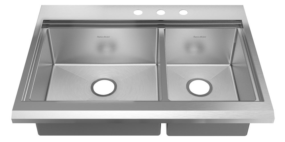 American Standard 11CR.253383.073 Appliance 3-Hole Stainless Steel ...