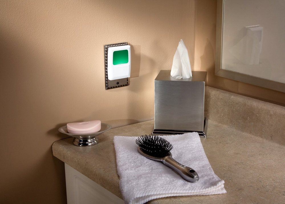 bathroom night lights amertac amerelle in forever glo led light 11186