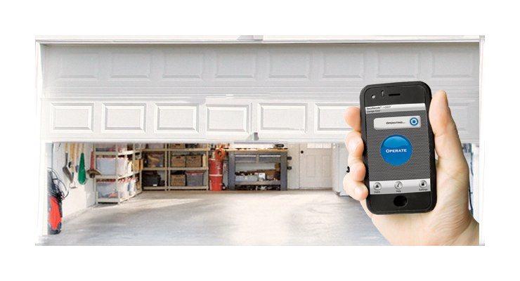 Smartphone Garage Door Opener Choice Image Door Design For Home