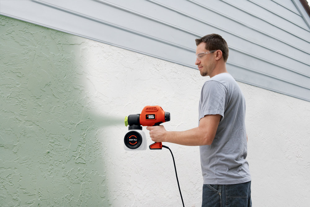 black decker bdps200 paint sprayer with side fill orange paint sprayers amazon canada. Black Bedroom Furniture Sets. Home Design Ideas