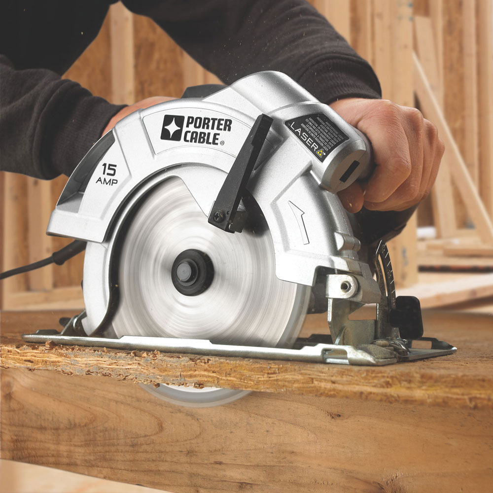 Porter Cable Pc15cslk 7 1 4 Inch Circular Saw With Laser
