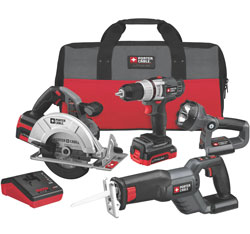 Porter-Cable PCL418C-2 4-tool combo kit