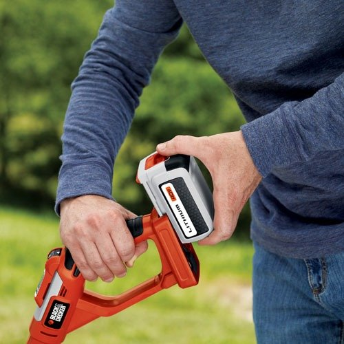 Black amp decker trimmer weed whacker lst136w 40v max lithium battery