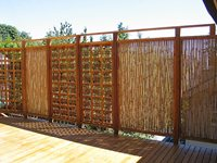 Sustainable Rolled Fence