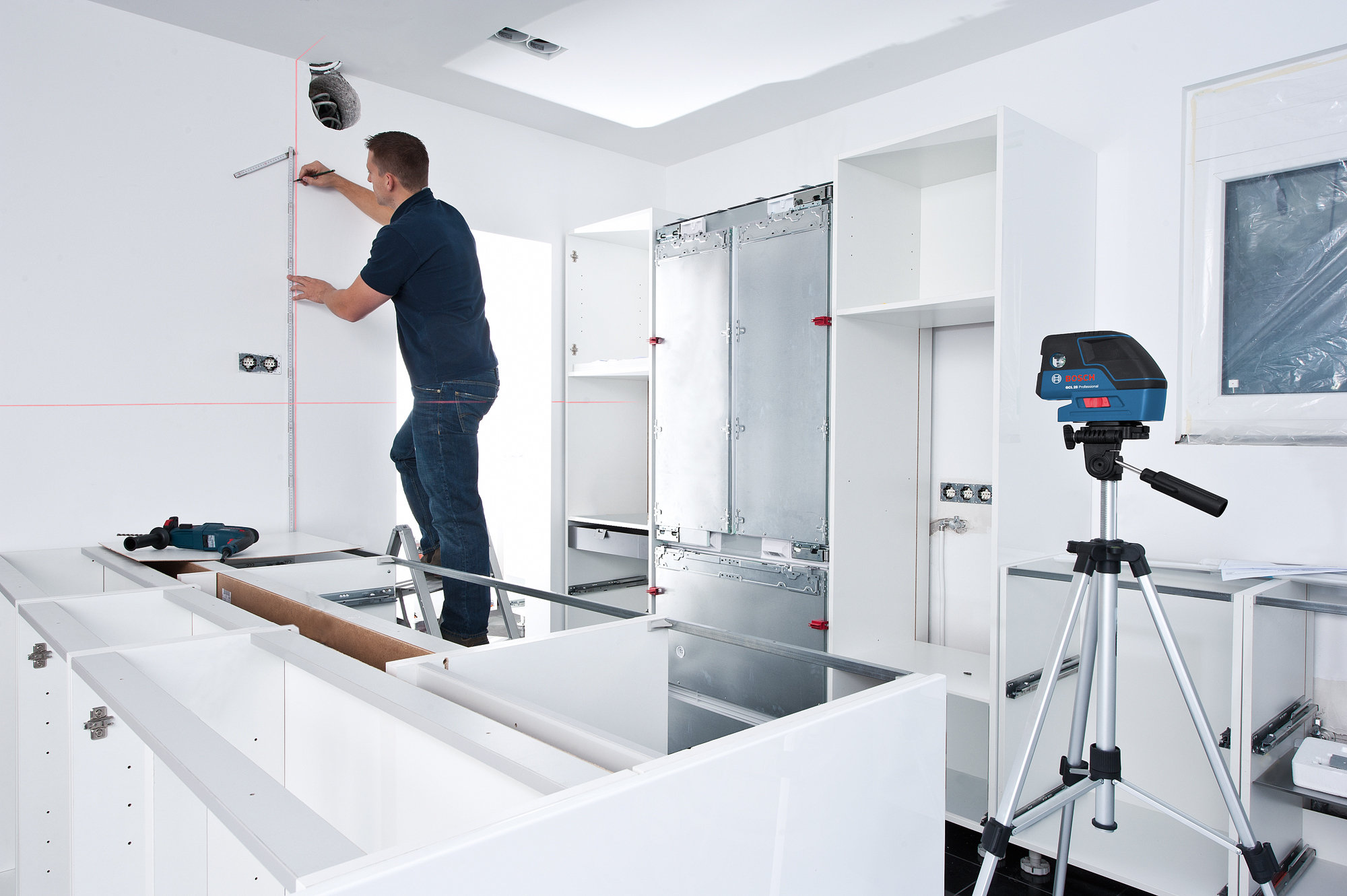 Amazon Com Bosch Gcl25 Self Leveling 5 Point Alignment