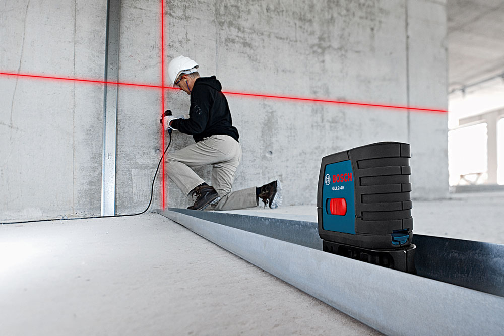 Amazon Com Bosch Gll2 40 Self Level Cross Line Laser Up