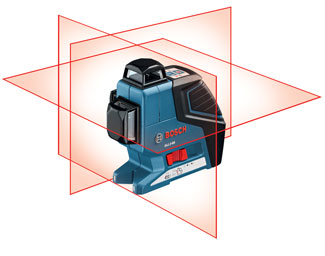Bosch GLL3-80 three-plane leveling and alignment line laser