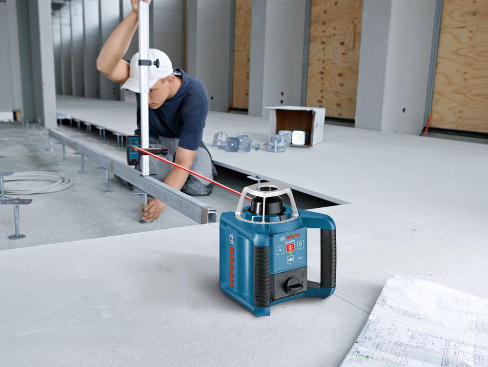 Bosch Self Leveling Rotating Laser Grl 300 Hv Rotary