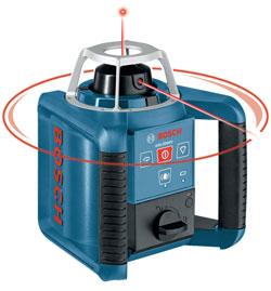 Bosch GRL 300 HV self-leveling rotating laser