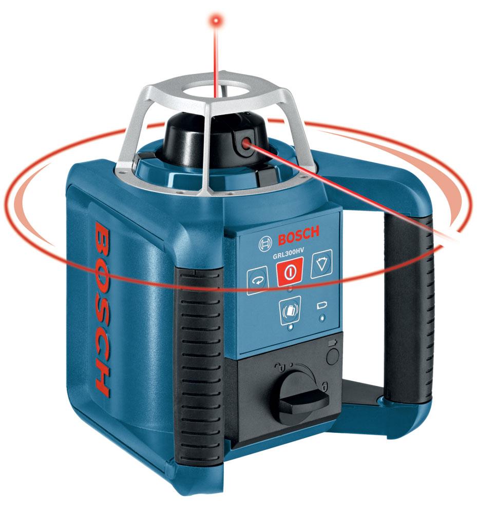 bosch grl300hv self leveling rotating laser rotary lasers. Black Bedroom Furniture Sets. Home Design Ideas