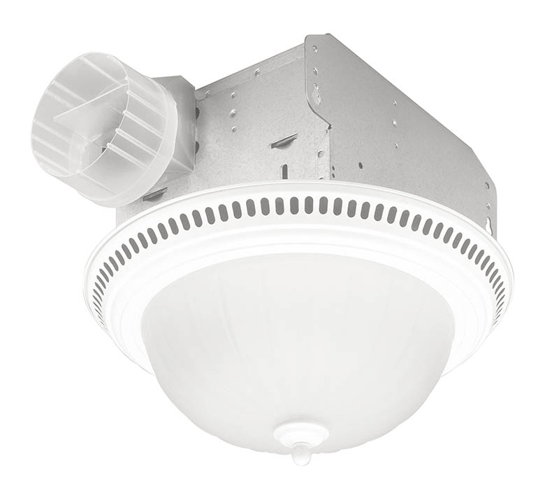 Broan 741sn decorative ventilation fan and light 70 cfm 3 - Ductless bathroom exhaust fan with light ...