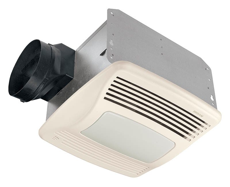 Broan QTXE110SFLT Ultra Silent Humidity Sensing Fan And