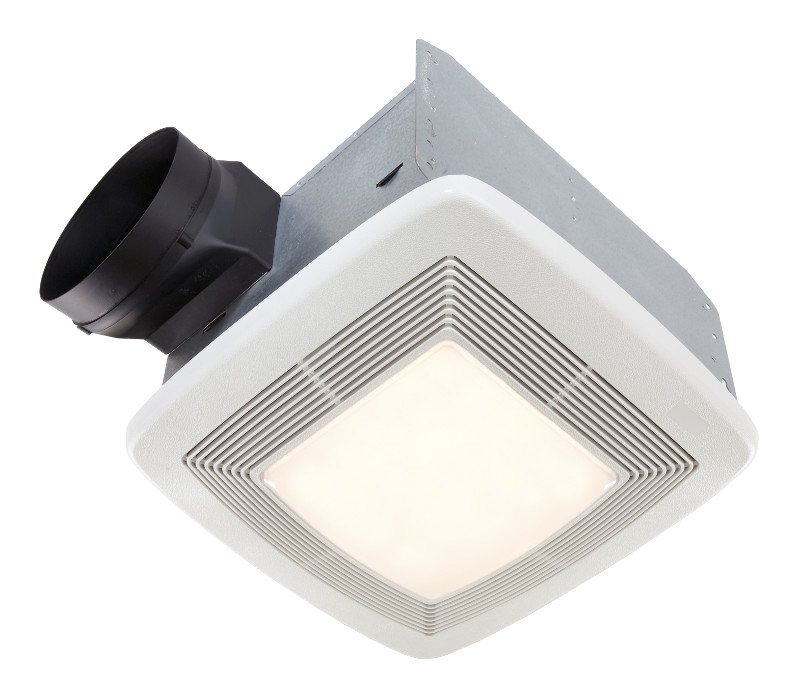 Broan Model QTXE080FLT 80 CFM 36 Watt Fluorescent Lighting Ultra