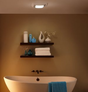Broan qtxe110flt fluorescent light ultra silent bath fan and light inhome aloadofball Gallery
