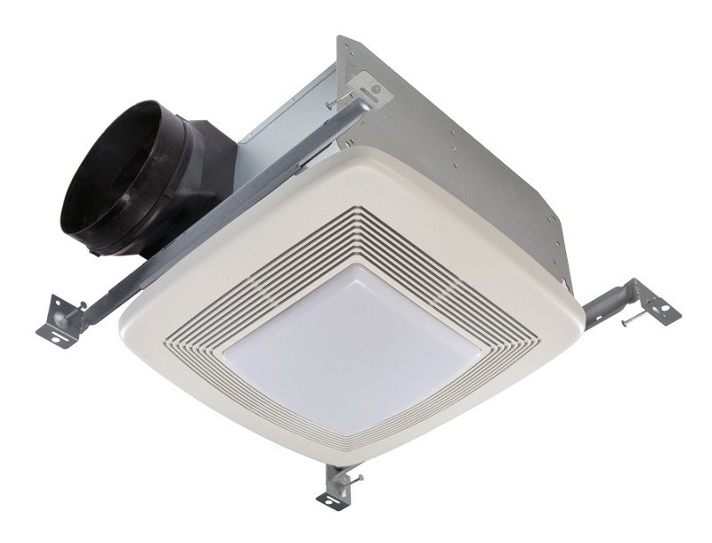 broan bathroom light fan combo broan qtxe110flt fluorescent light ultra silent bath fan 22813