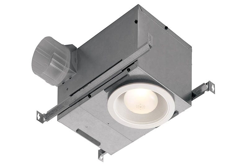 Broan 744 Recessed Bulb Fan And Light, 70 CFM 75-Watt