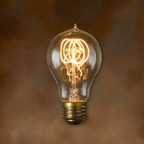 Bulbrite 132520 25w Nostalgic Edison Quad Loop Style Bulb Incandescent Bulbs