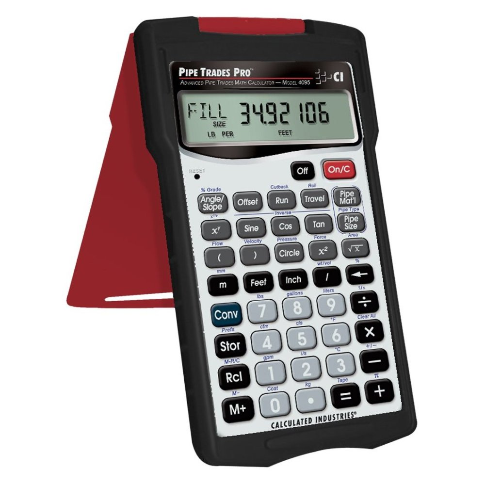 Pipe Trades Pro 4095 Advanced Math Piping Layout Tools Calculator