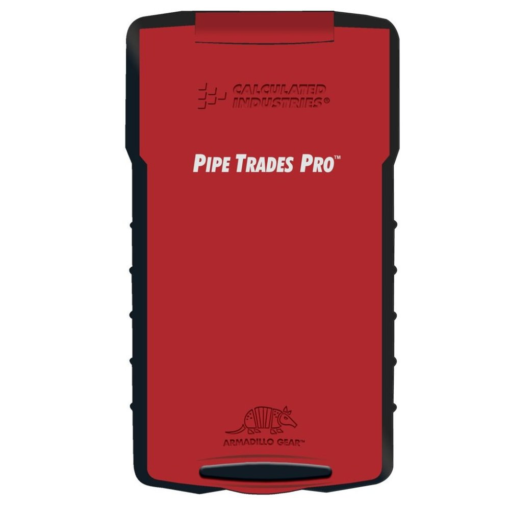 Pipe Trades Pro 4095 Advanced Math Piping Layout Calculation Calculator
