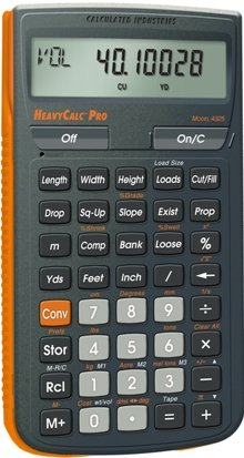 Calculated industries 4325 heavycalc pro construction New construction calculator