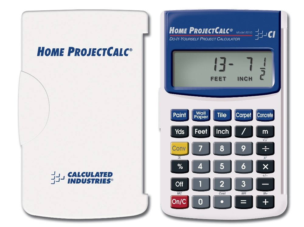 Amazon.com: Calculated Industries 8510 Home ProjectCalc Do-It ...