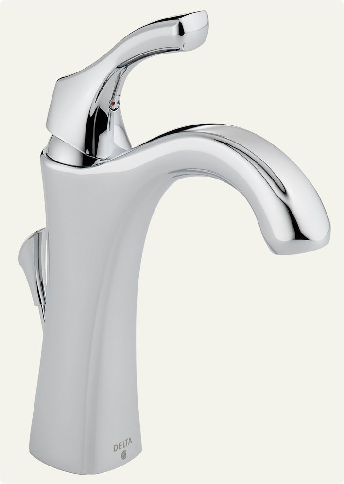 Delta Faucet Addison Single Handle Bathroom Faucet With Diamond Seal