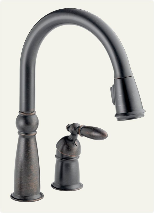delta victorian kitchen faucet delta 955 rb dst single handle pull kitchen 17218