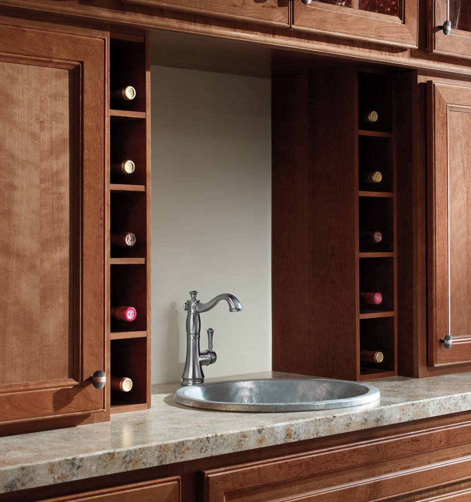 2497LF Kitchen Faucet With Side Sprayer