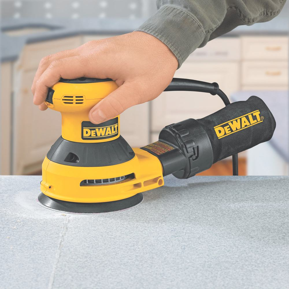 Dewalt D26451 3 Amp 5 Inch Random Orbit Sander With Cloth